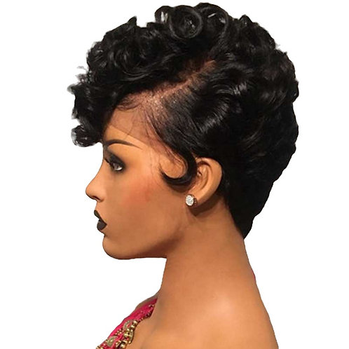 Peppa Lace Frontal Pixie Wig (100% Remy Human Hair)