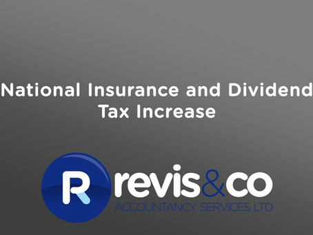 NI and Dividend Tax Rise