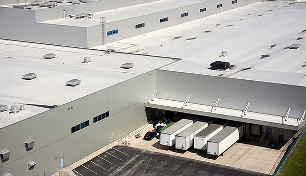 warehouse commerical roof