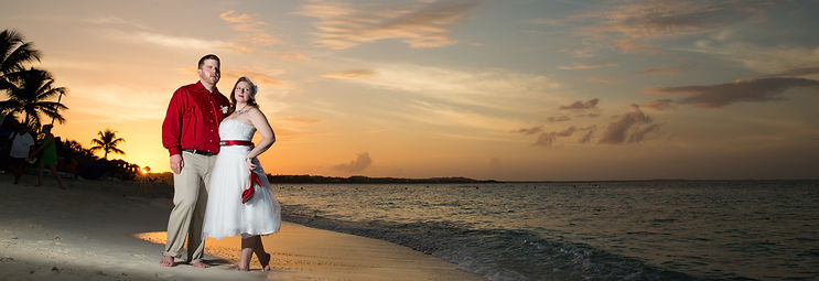 Beach Sunset Wedding Turks and Caicos