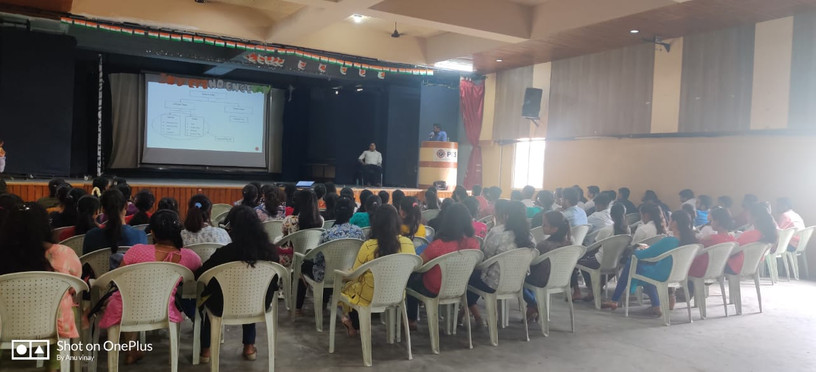 Seminar at PES college on GST