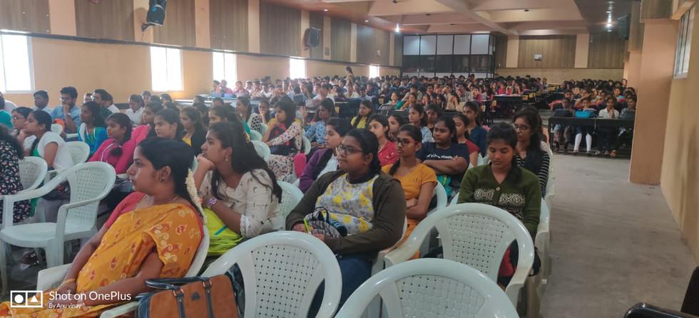 Seminar at PES on GST