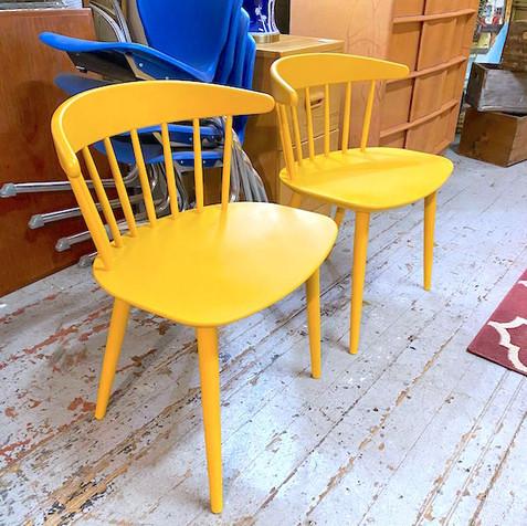 Pair of Marigold Danish Chairs