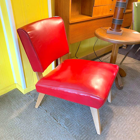 Red Viking Chair