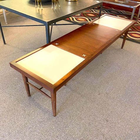 Refinished A.O.M. Coffee Table