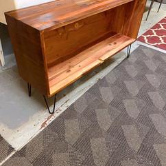 Upcycled Cedar Console
