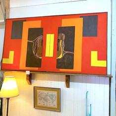 Large Colorful MCM Original Artwork