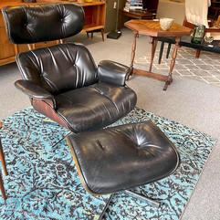 Plycraft Chair w/ Ottoman AS IS64548090760524_51524497976114