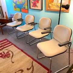 Retro Set of 4 Chairs