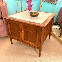 Marble Top MCM Side table