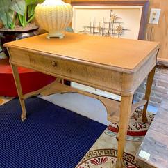 Refinished Oak Claw Foot Desk