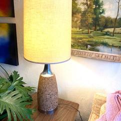 MCM Cork Lamp