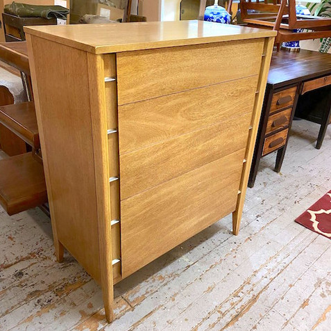 Blonde Retro Chest of Drawers
