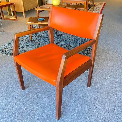 MCM Walnut Arm Chair