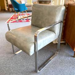 Chrome MCM Chair