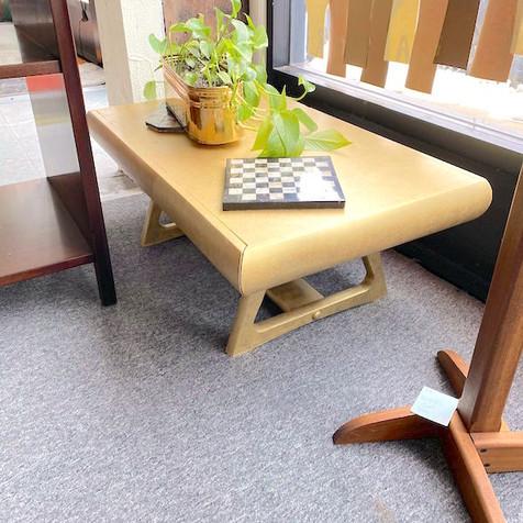 Retro Gold Coffee Table