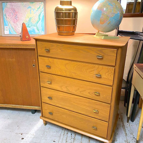 Refinihsed 5 Drawer Chest