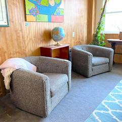 (2) Rowe Lounge Chair