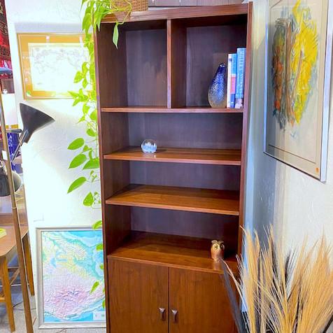 (2) MCM Walnut Shelf Unit