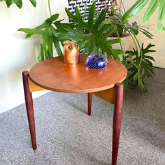 MCM Gorgeous Round Side Table
