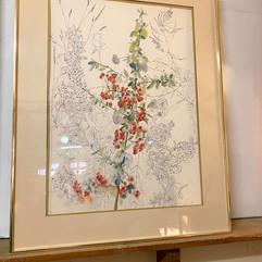 Colorful Flower Artwork