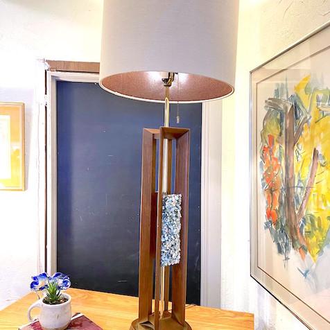 MCM Rock Cluster Lamp