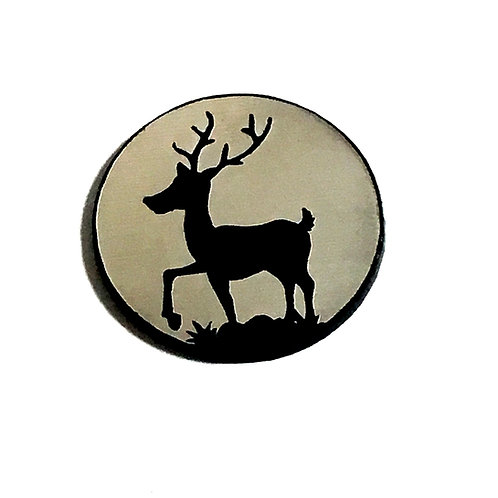 8 Piece. Reindeer Mini Cabochons-Acrylic Laser Cut Shapes