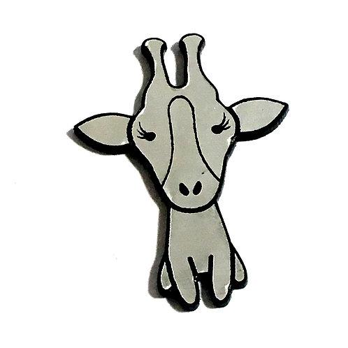 1 Piece. Giraffe Cabochon -Acrylic Laser Cut Shape