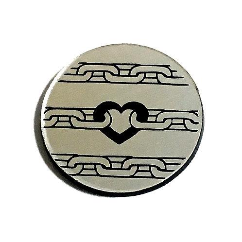 1 Piece. Love Chain Cabochon -Acrylic Laser Cut Shapes