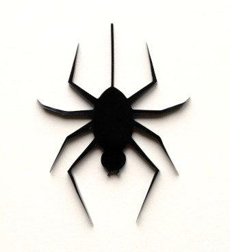 Laser Cut Supplies-1 Piece. Spider Charms-Acrylic.Wood Laser Cut Shape