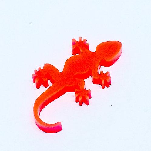 1 Piece. Gecko Lizard Cabochon Charms-Acrylic Laser cut Shapes Onl
