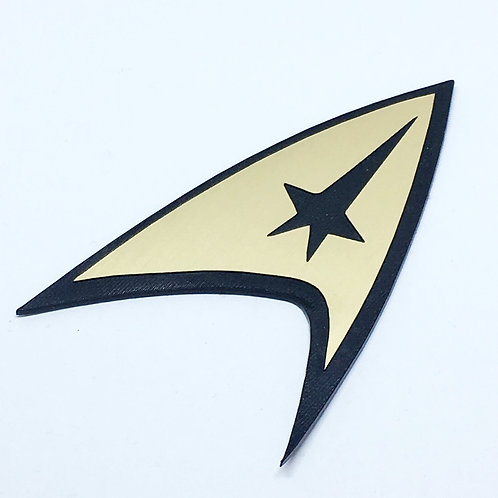 Laser Cut Supplies-1 Piece. Star Trek-Acrylic. Wood Laser Cut Shape