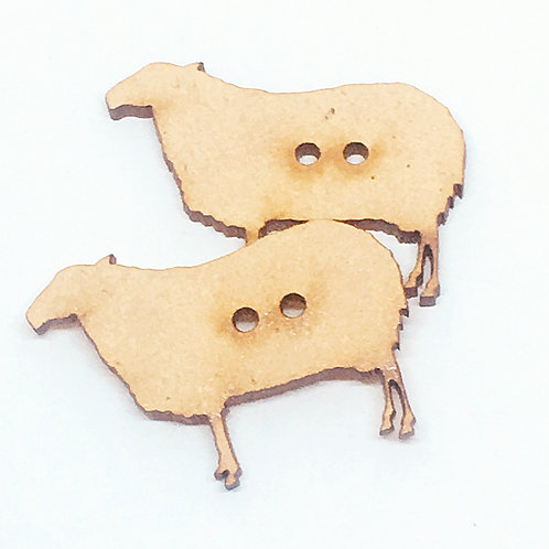 Lasercut Craft Wood –1 Piece. Sheep 37mm Wide. Scrapbook. Wood Craft Shape