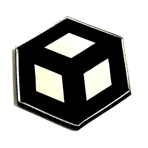 8 Piece. Open Cube Mini Cabochons-Acrylic Laser Cut Shapes