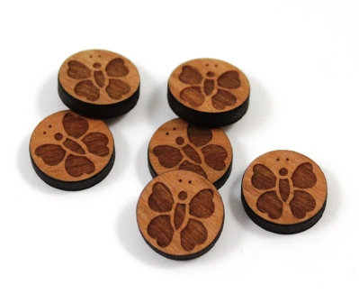 Laser Cut Supplies-8 Pieces.Butterfly Charms-Acrylic.Wood Laser Cut Shapes