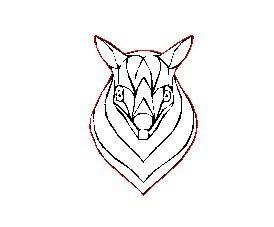 Laser Cut Australian Fine Line Possum Charm
