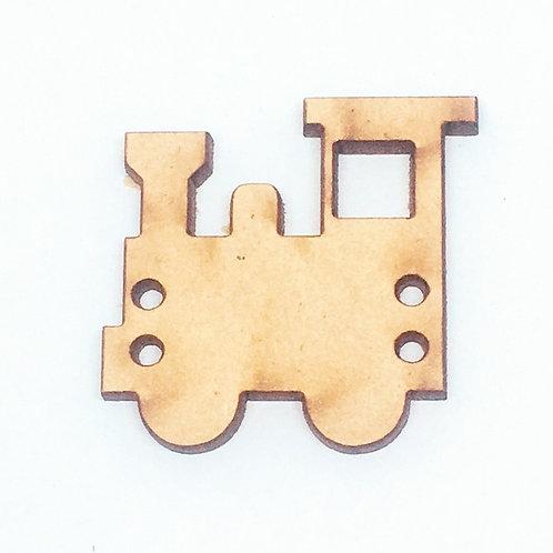 Lasercut Craft Wood–1 Piece. Train 35mm Wide.Scrapbook.Wood Craft Shape