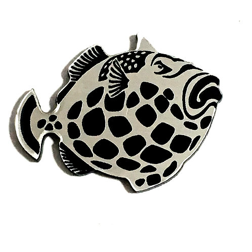 1 Piece. Grouper Fish Cabochon -Acrylic Laser Cut Shape