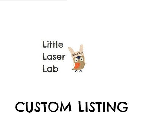 Custom Listing for Elanor