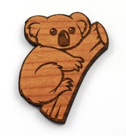 Laser Cut Supplies-1 Piece.Koala Charms-Acrylic.Wood Laser Cut Shapes