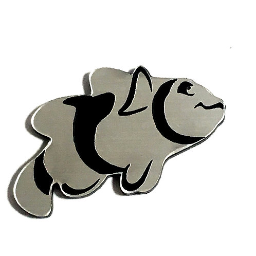 1 Piece. Clown Fish Cabochon -Acrylic Laser Cut Shape