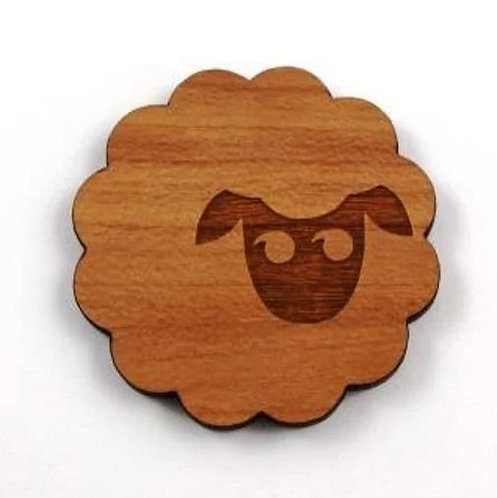Laser Cut Supplies- 1 Piece.Sheep Charms-Acrylic. Wood Laser Cut Shapes