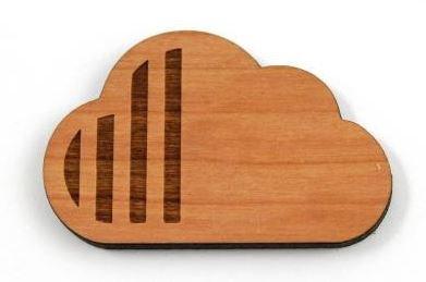 Laser Cut Supplies-1 Piece. Cloud Charms-Acrylic.Wood Laser Cut Shape
