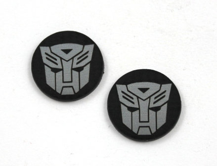 Laser Cut Supplies-8 Piece. Transformer Charms-Acrylic and Wood Laser Cut Shapes