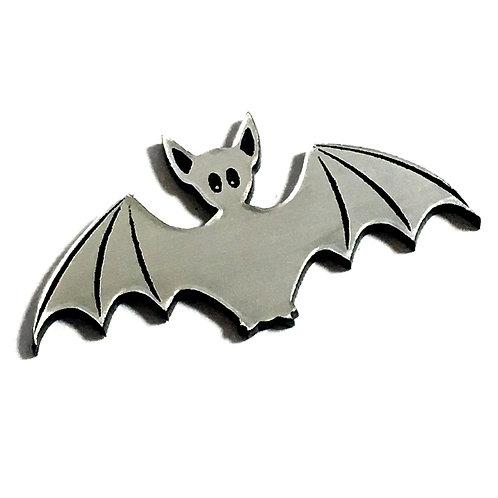 1 Piece. Spooky Bat Cabochon -Acrylic Laser Cut Shape