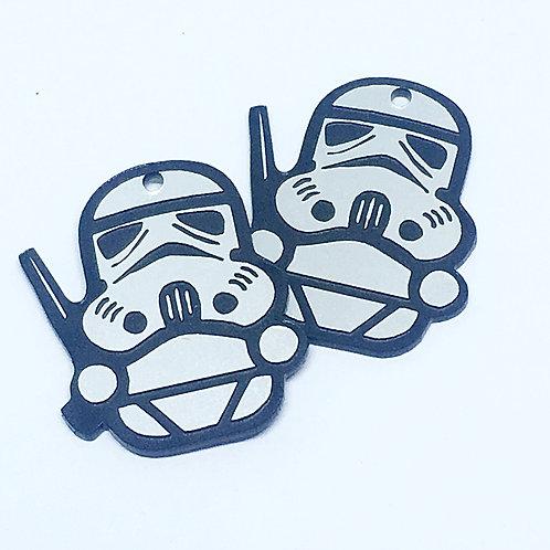 Laser Cut Supplies-1 Piece. Storm Trooper-Acrylic. Wood Laser Cut Shape