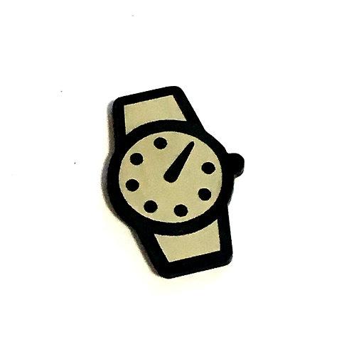 8 Piece. Wrist Watch Mini Cabochons-Acrylic Laser Cut Shapes