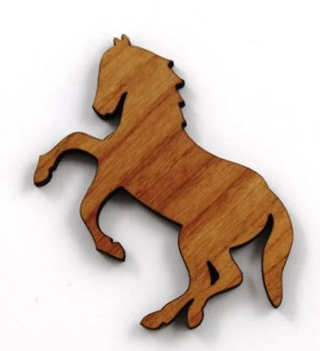Laser Cut Supplies-1 Piece.Horse Charms-Acrylic.Wood Laser Cut Shapes