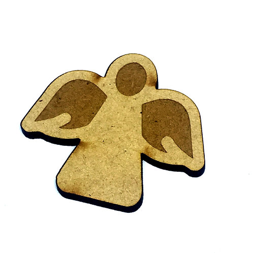 8 Pieces. Angel Mini Laser Cut Charms- Customize Your Laser Cut Sha