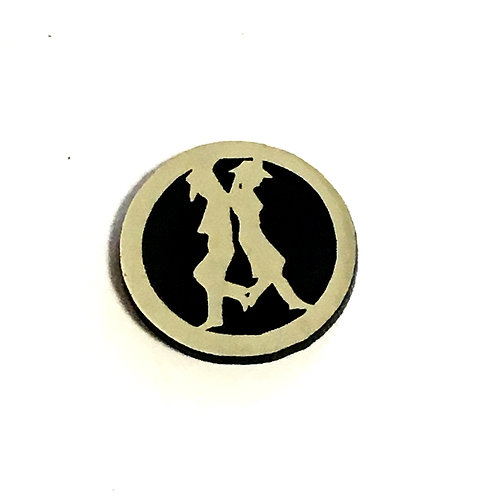 1 Piece. Boot Scoot Western Cabochon -Acrylic Laser Cut Shapes